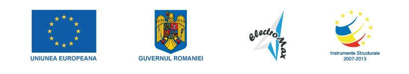 Proiect cofinantat prin Fondul European de Dezvoltare Regionala